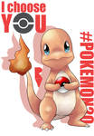 20th Pokemon - I CHOOSE YOU CHARMANDER
