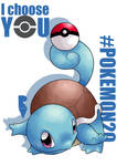 20th Pokemon - I CHOOSE YOU SQUIRTLE