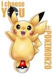 20th Pokemon - I CHOOSE YOU PIKACHU