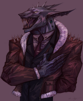 Friendly Grin by Raven-Blood-13
