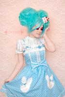 Blue Bunny 1 by looooo