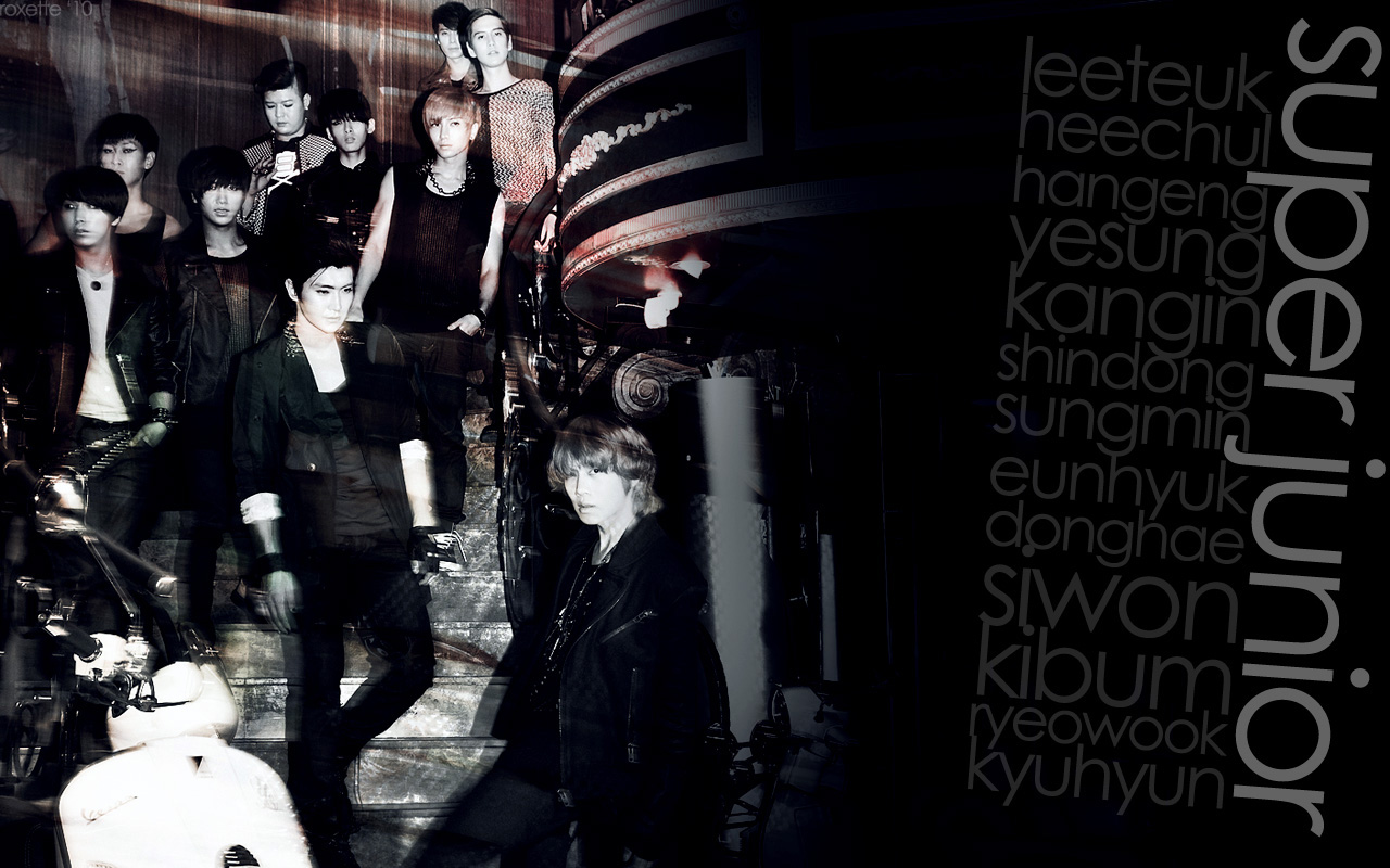 Super Junior Wallpaper by akazuno on DeviantArt
