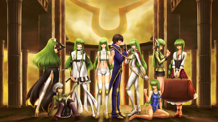Code Geass - C.C. Forever