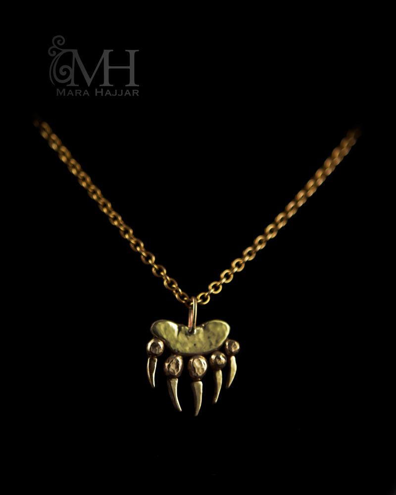 Grizzly bear necklace by haskasimo on deviantart grizzly bear necklace by haskasimo aloadofball Images