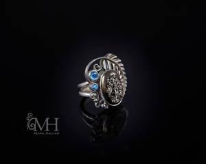 Shayna ring Druzy Ring