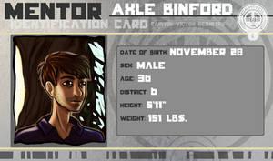 Hunger Games Mentor: Axle Binford