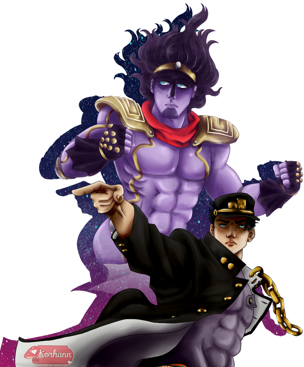 Jotaro Kujo The Stardust Crusader By Dizzy Possum On Deviantart