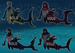 |Vampire Shark Merman batch |- Closed - by Korhann