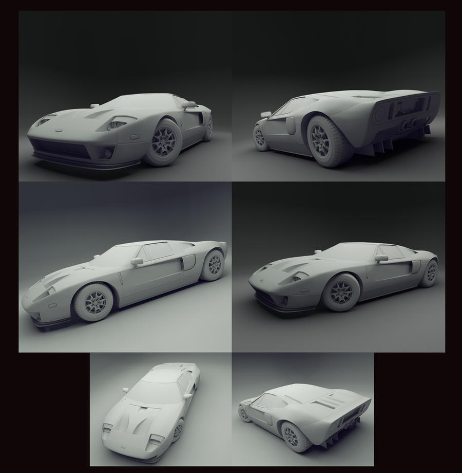 Fabulous Vonbmac Ford Gt By Aliraqi With Ford Gt Concept