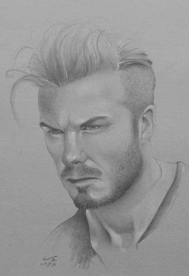 David Beckham by aliraqi