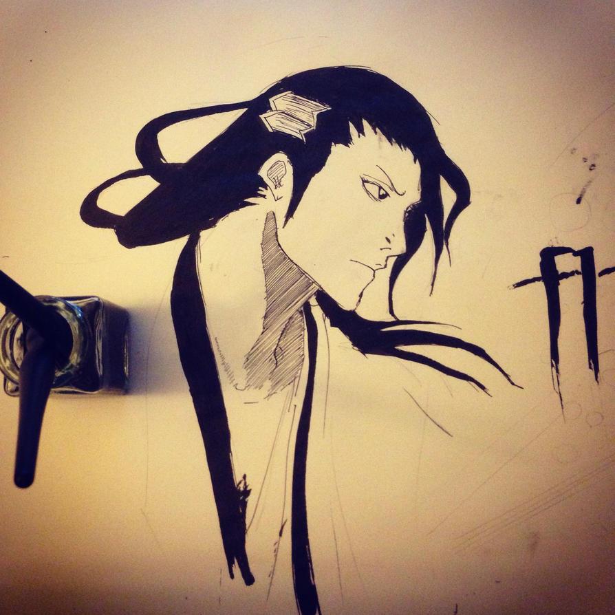 Byakuya fanart by aRT2MS