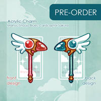 Preorder: Mahou Shoujo Blues CCS Wand by aoneir