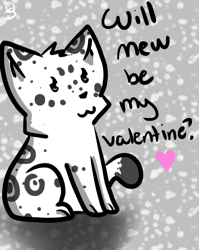 Leopard Valentine  by DEMONsnowy