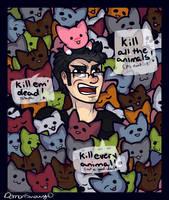 Kill Da Animals by DayByDayArtwork