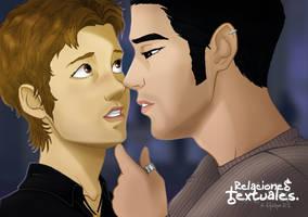 Relaciones Textuales - David and Sami by Efrayn
