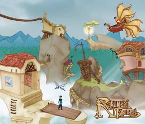 Rapunzel Nabunzel - Pueblo by Efrayn