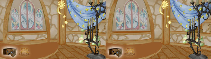 Rapunzel Nabunzel - Interior Tower (3D) by Efrayn