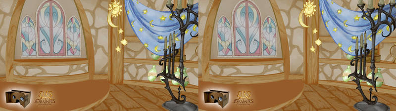 Rapunzel Nabunzel - Interior Tower (3D)