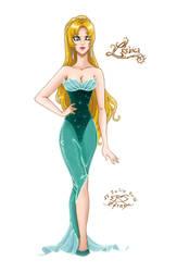 Mermaid Lesbica Human Fashion by Efrayn