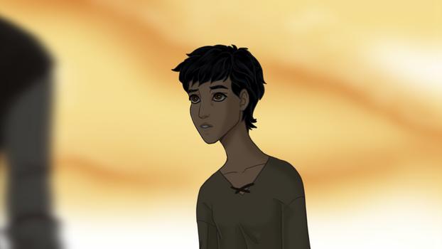 Young Bastian (El Retrato de Barbazul)