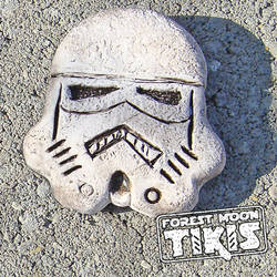 Stormtrooper Tiki by ForestMoonTikis