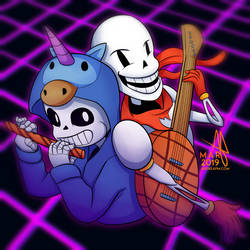 (Gift) Sans and Papyrus
