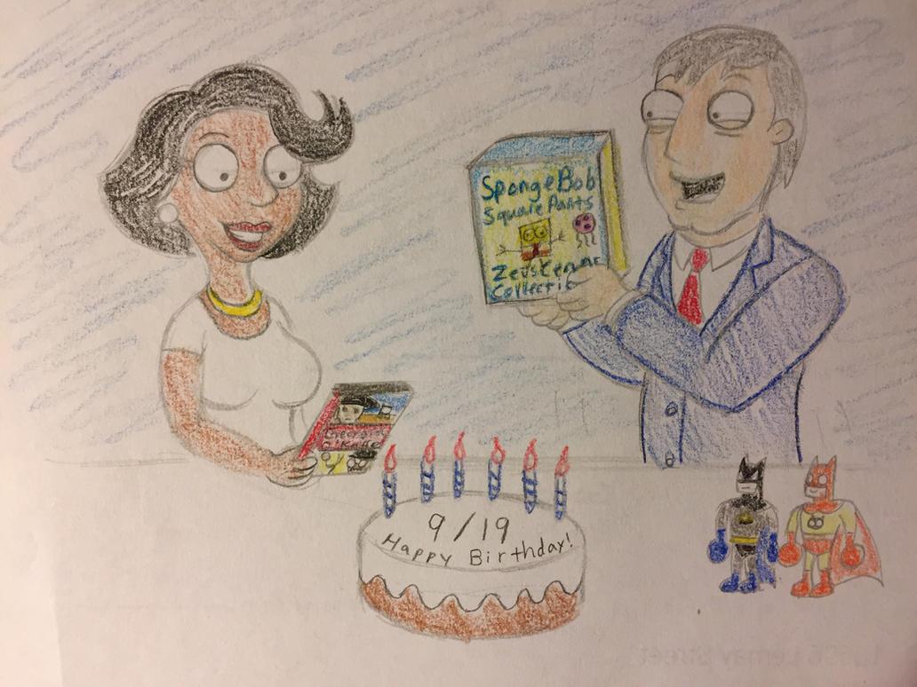 Donna and West's Birthday by PinkDuskStone