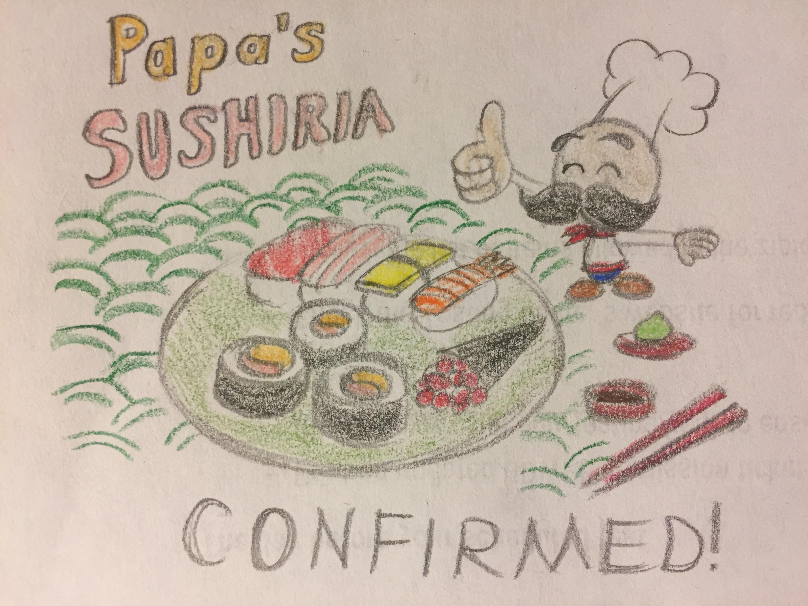 Papas Donuteria Mobile - Papa s sushiria confirmed by pinkduskstone papa s sushiria confirmed by pinkduskstone