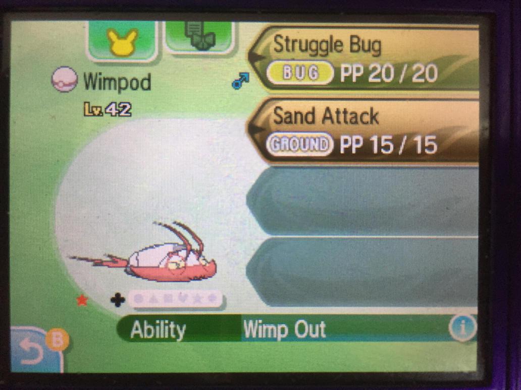 Whoa, Wimpod! by PinkDuskStone