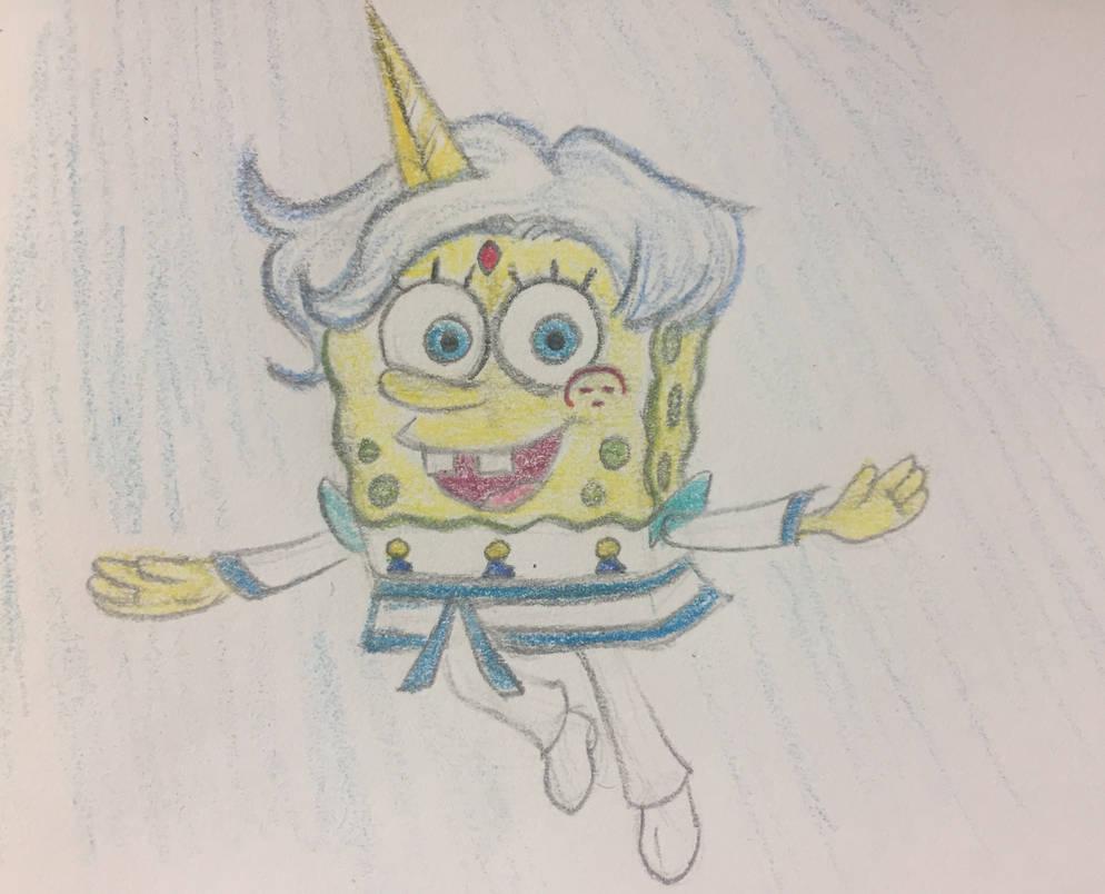 Genki Spongebob By Pinkduskstone On Deviantart