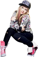 Avril Lavigne Png by Suyesil