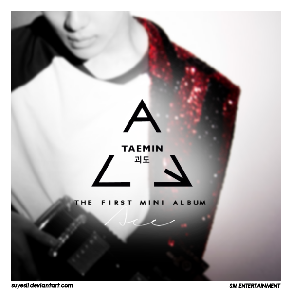 Taemin-ACE (Album Cover By Suyesil) by Suyesil on DeviantArt