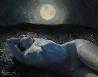 Moonbathing by leoplaw