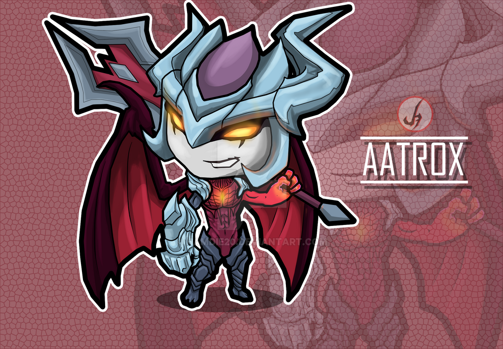 Aatrox LOL by hamdie20 ...