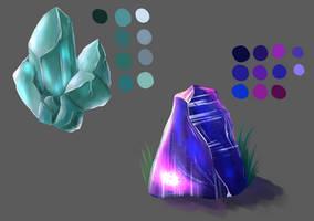 Crystal study by YukiRaito