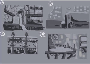 Concept Art - Environment 1