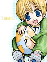 Takeru and the Digimon Egg by Kippi