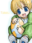 Takeru and the Digimon Egg