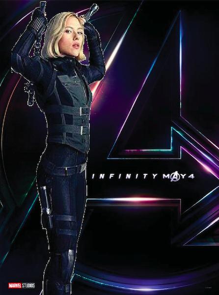 Avengers Infinity War Black Widow By Rufusprime54 On Deviantart