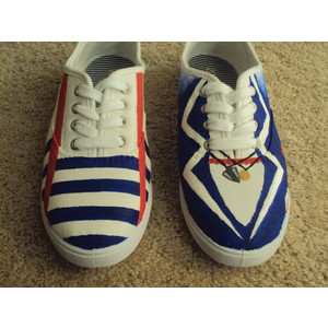1D shoes by ciencianalove