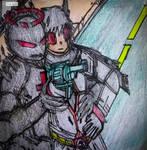 The Auditor and Dark Rabbit team up by Napasitart