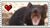 Tasmanian Devil Love Stamp by Nukeleer