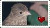 Brownie Love Stamp by Nukeleer
