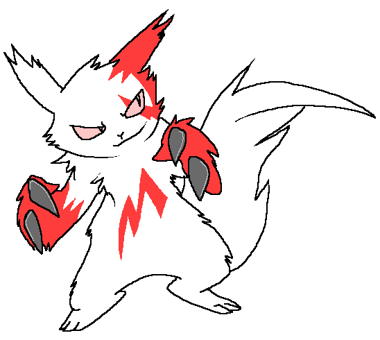 Stabs the Zangoose by Nukeleer