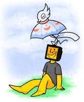 Birbrella by Nukeleer