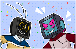 BIRTHDAY TVS by Nukeleer