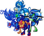 Sultry And Silly All-Sonic Harem