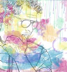 Watercolour Misha