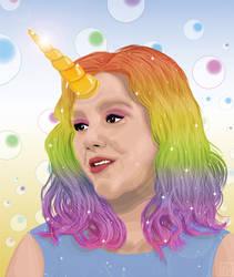 Happy Birthday Rachel Miner - Unicorn
