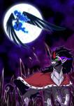 Nightmare Moon V King Sombra